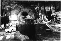 WARNING #26  – Kosuke, Photography, Art, Abstract, Black and White, Bird, Street
