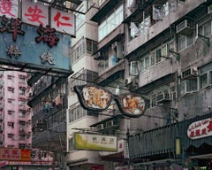 back door 35 – Michael Wolf, Cityscape, Colour, Hong Kong, Street Photography