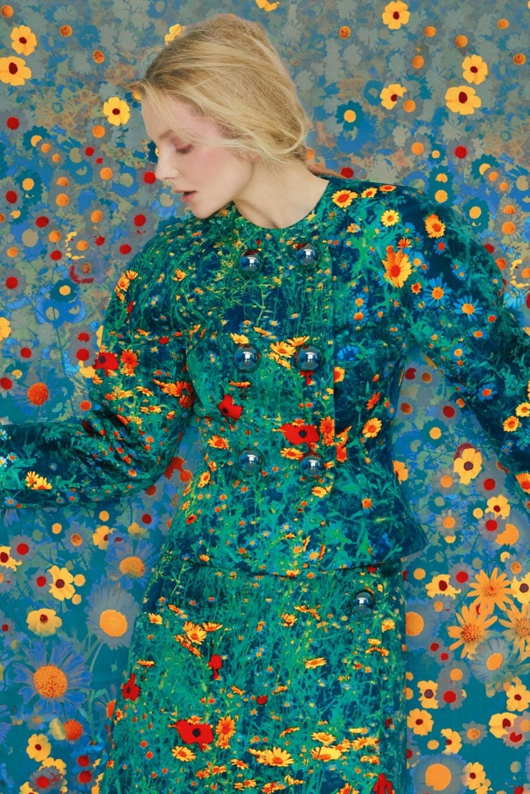 Eniko in Flowers, Archive – Erik Madigan Heck, Fashion, Nude, Art For Sale 2