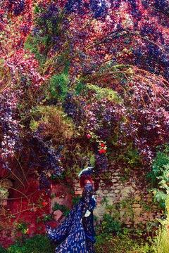 The Gardens of Ninfa, Old Future  – Erik Madigan Heck, Pool, Woman, Fashion, Art