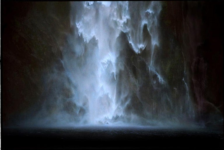 Untitled #17 - CL SH686 N26 – Bill Henson, Waterfall, Water, Nature, Landscape - Photograph by Bill Henson