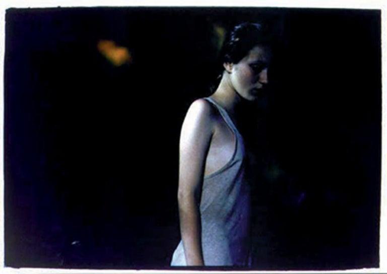 Untitled #16 - CB/KMC 8 SH 200 N13 – Bill Henson, People, Portrait, Monochrome - Photograph by Bill Henson