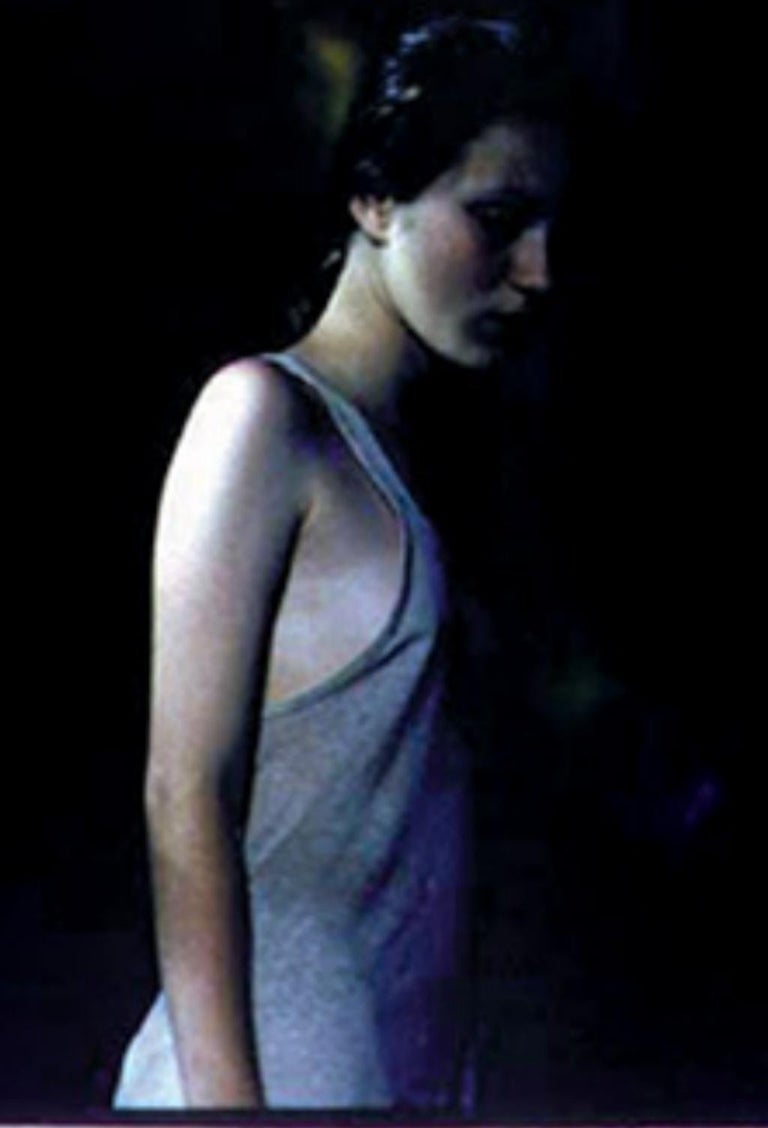 Untitled #16 - CB/KMC 8 SH 200 N13 – Bill Henson, People, Portrait, Monochrome - Contemporary Photograph by Bill Henson