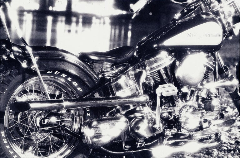 NICK KNIGHT (*1958, Great Britain)  Harley, 1988 Hand-coated pigment print Sheet 142.5 x 209 cm (56 1/8 x 82 1/4 in.) Edition of 5, plus 2 AP; Ed. no. 3/5 Print only  Nick Knight is among the world's most influential and visionary photographers. He