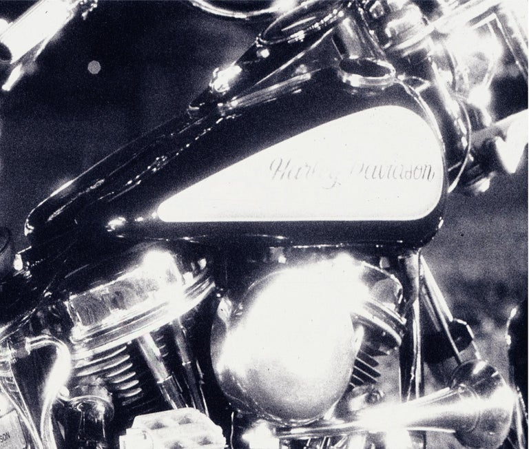 Harley – Nick Knight, Photography, Black and White, Motorcycle, Harley Davidson For Sale 1