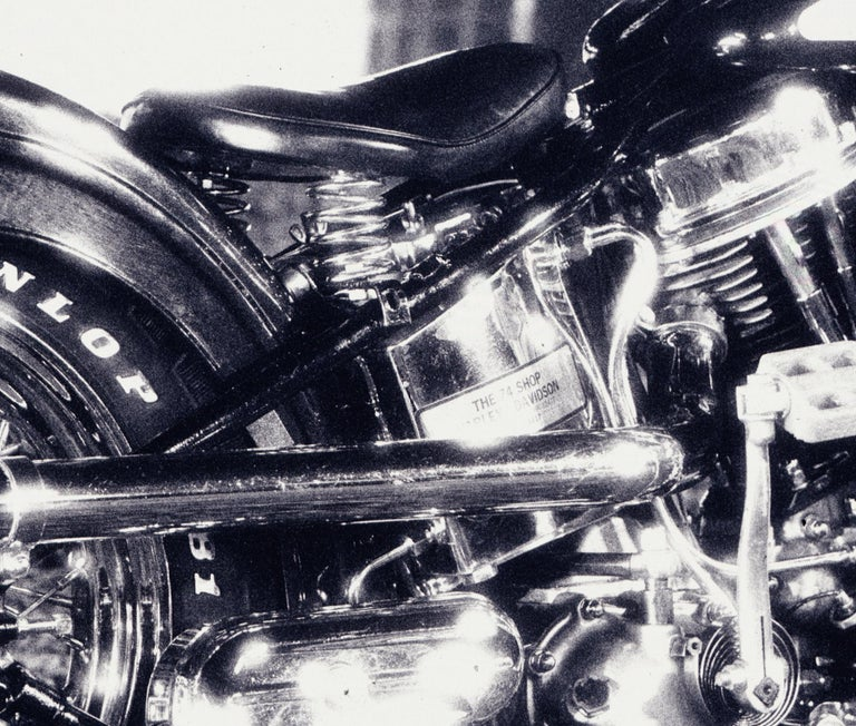 Harley – Nick Knight, Photography, Black and White, Motorcycle, Harley Davidson For Sale 2
