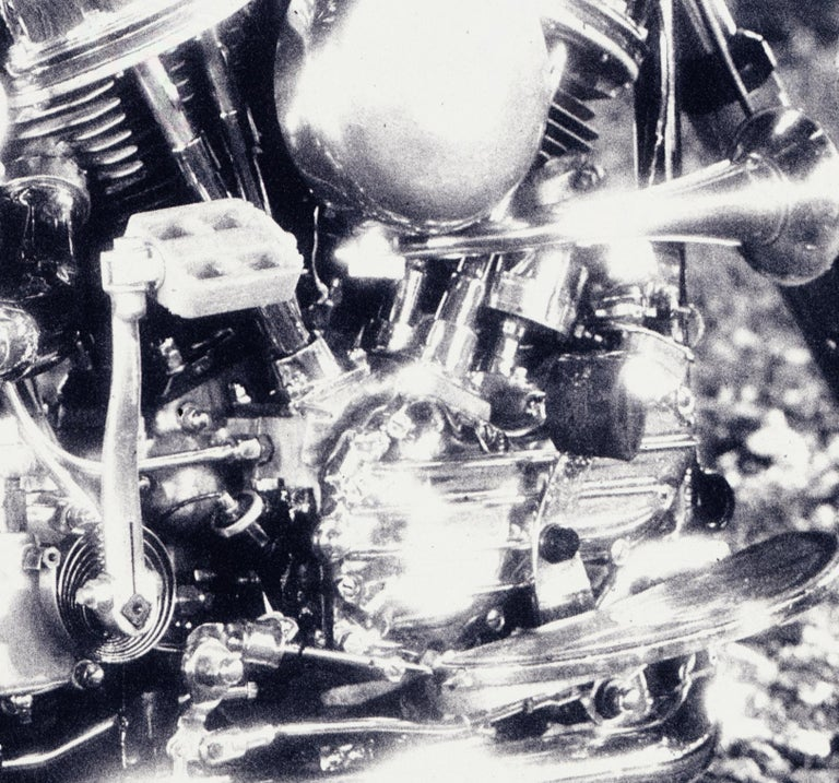 Harley – Nick Knight, Photography, Black and White, Motorcycle, Harley Davidson For Sale 3