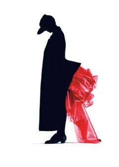 Red Bustle, Yohji Yamamoto – Nick Knight, Photography, Fashion, Silhouette, Art