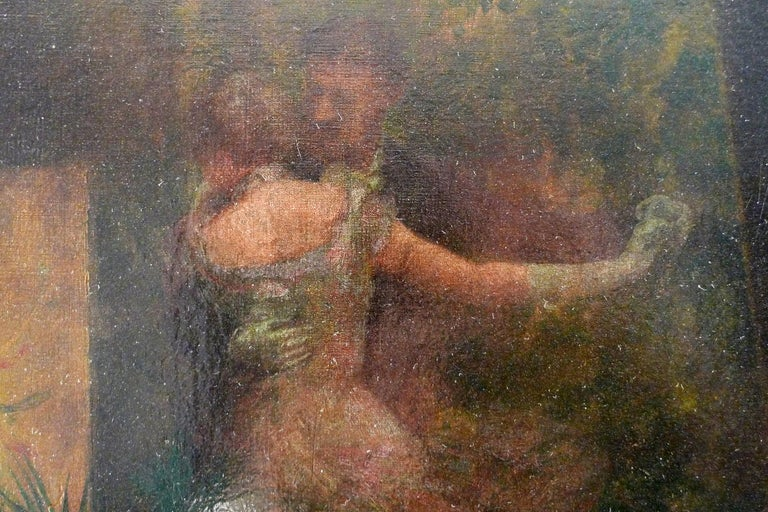 ROGELIO DE EGUSQUIZA Spanish, 1845 - 1915 A REVERIE DURING THE BALL signed and dated