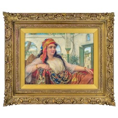 Reclining Beauty in the Harem