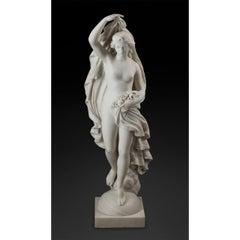 Demetrio Caruji Italian Marble Statue
