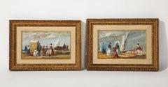 Pair of Beach Paintings