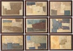 Set of Nine Collages