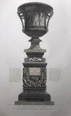 Set of 3 Copper Plate Engravings, by Giovanni Battista Piranesi