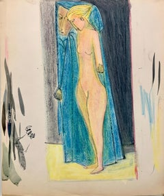 Paint Nude Drawings and Watercolors