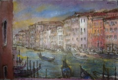 """Grand Canal, View from San Toma"""