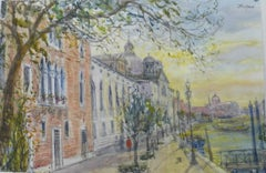 """On Giudecca, View to Redentore"""