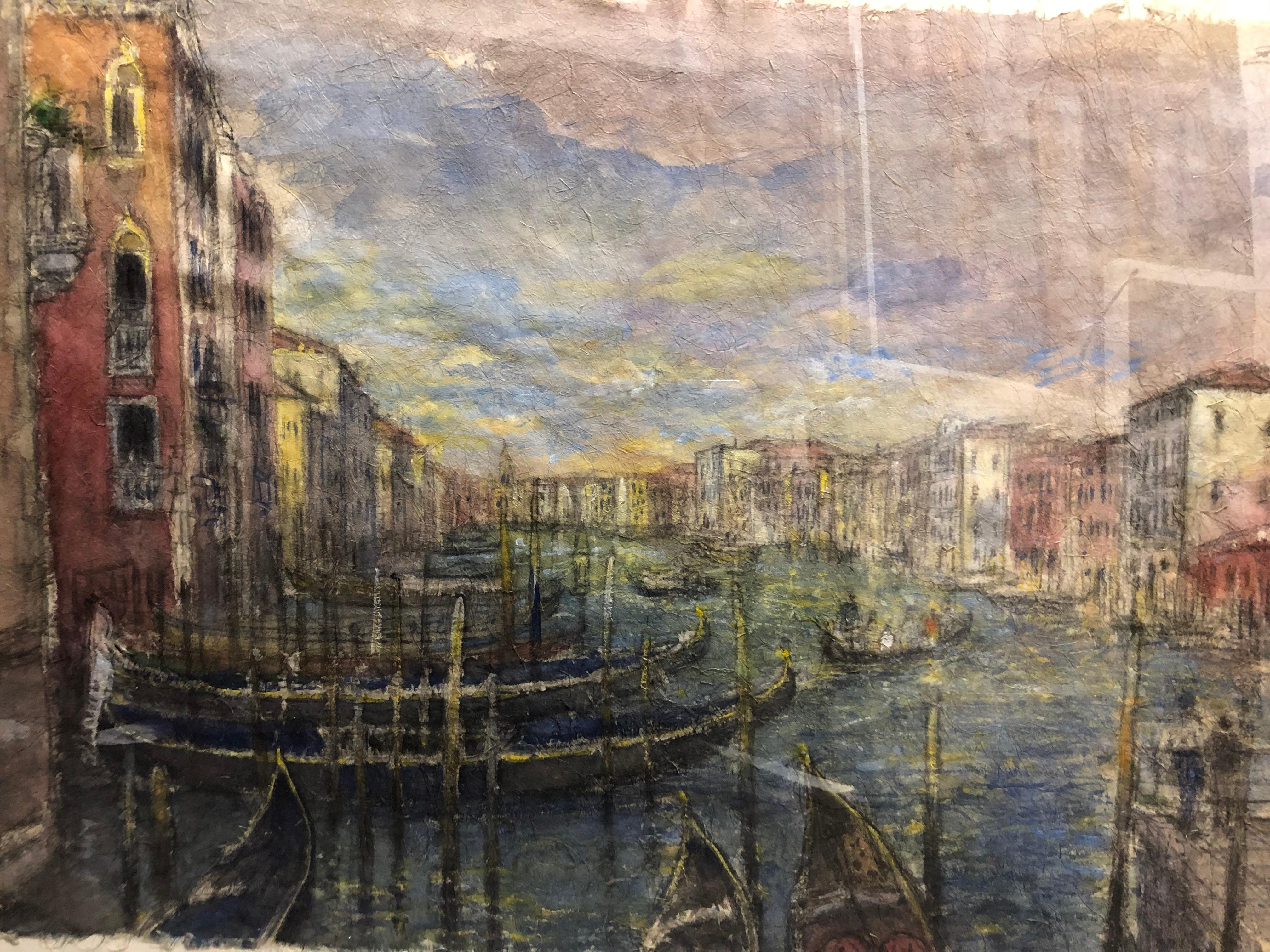 """""""Evening Light on Grand Canal, San Toma"""""""