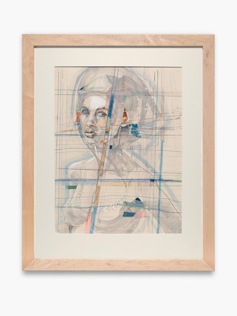 <i>Spiritual Self-Portrait</i>, 1960s-1970s, by Artis Lane, offered by Collected Detroit