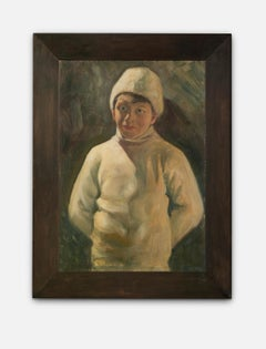 """Portrait of a Young Eero Saarinen"", Painted By His Father Eliel Saarinen, Oil"