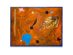 """""""Untitled"""" Mixed Media, Abstract, Colors, Signed"""