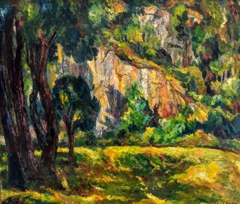 Edward L. Loper Sr Landscape Painting - Alapocas Run