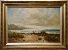 River Orwell an Oil Painting signed by Ellen Hartridge dated 1905
