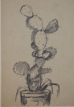 Four Pencil Drawings of Pears, pencil on paper, Albert Lorey Groll, American