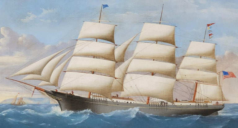 Large Painting of Ship