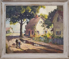 Road To The Sea A Landscape Oil Painting signed by Amee Davis