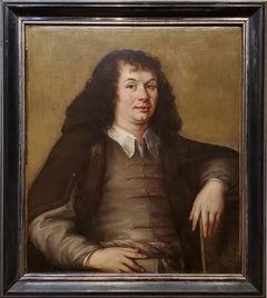 17th Century Old Master Dutch Portrait of a Gentleman