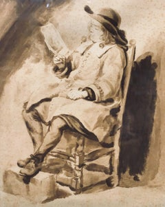 Jurriaan Cootwyk, Dutch 1712-1770 Dutch Man in a Chair