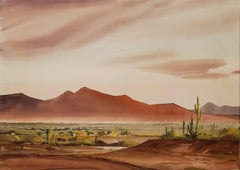Arizona Desert Watercolor
