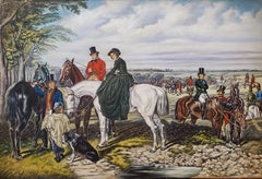 The Fox Hunt signed by T. G. Pollard