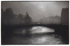Pont d'Arcole - Platinum Palladium print on vellum over silver, limited edition