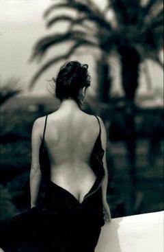 Lisa- Black & White Photography,20th. Century, Archival Print,sensual,romantic