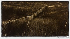 Bretagne-Platinum Palladium print on vellum over 24 carat gold, limited edition