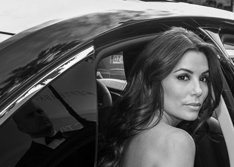 'Eva' - Signed limited edition print, Black and white photography, Actress - Contemporary Photograph by Laurent Campus