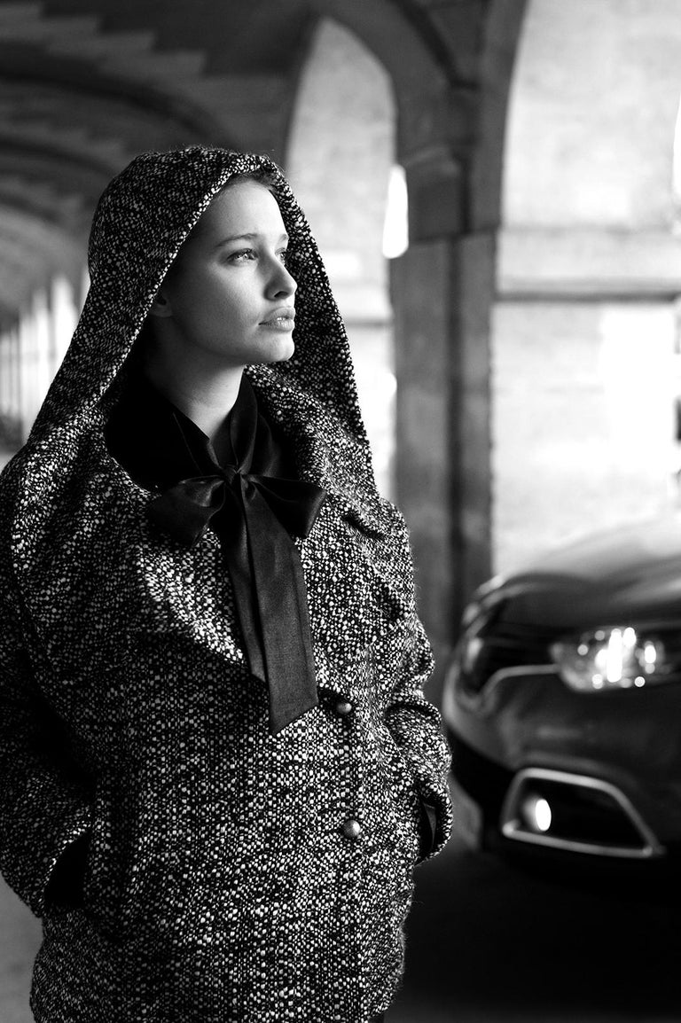 Laurent Campus Black and White Photograph - 'Lila' - Signed limited edition print, Black and white photography, Actress