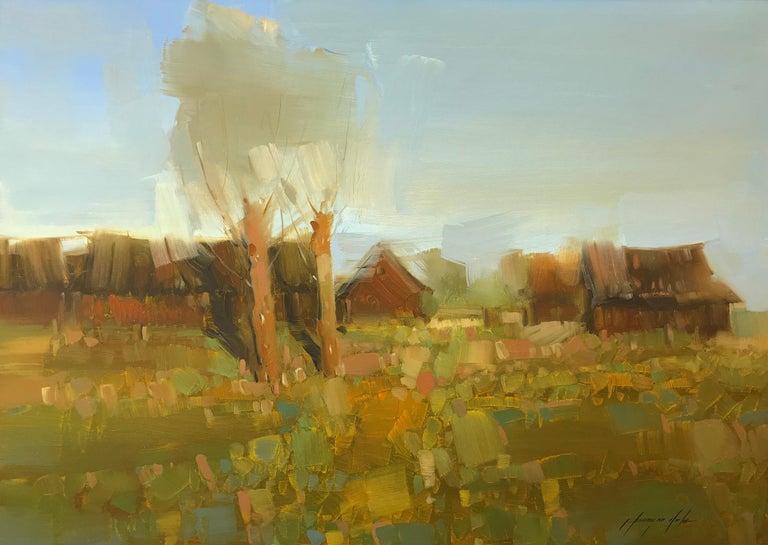 Vahe Yeremyan Landscape Painting - Village