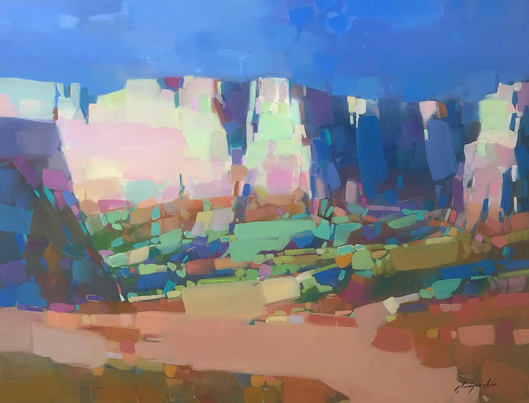 Vahe Yeremyan Landscape Painting - Canyon View