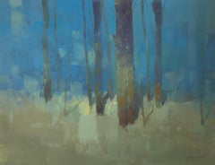 Trees in Turquoise