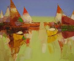 Harbor -Sail Boats