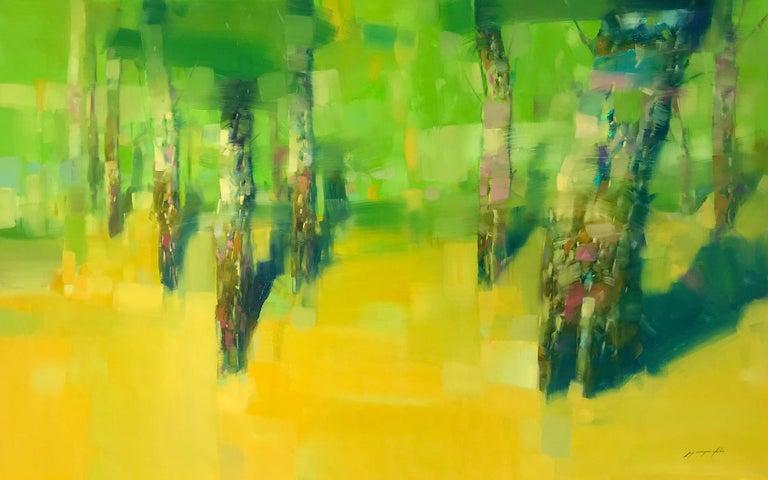 Vahe Yeremyan Landscape Painting - Vibrant Summer