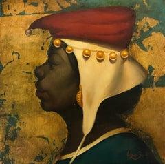 Portrait, Original oil Painting