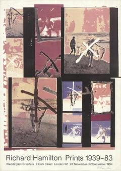 1984 Richard Hamilton 'Richard Hamilton Prints 1939-83' Offset Lithograph