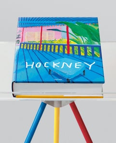 "David Hockney: A Bigger Book-28.25"" x 20""-Book-2016-Pop Art-Multicolor"
