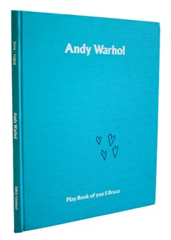 """Andy Warhol: Play Book of you S Bruce from 2:30 - 4:00-11"""" x 8.5""""-Book-1989-Pop"""