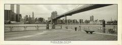 Ralf Uicker 'Brooklyn Bridge, New York' Photography Black & White Offset Print