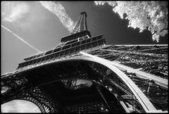 """Tour Eiffel,"" - Black and White Photograph in France"